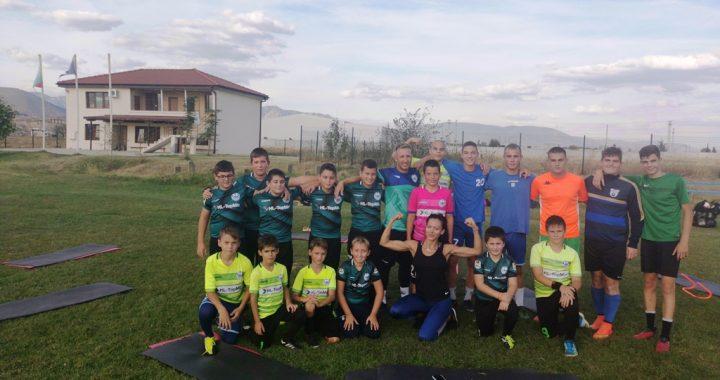 Вратарите на ФКСК със специална тренировка ТАБАТА с един от най-добрите треньори в града !