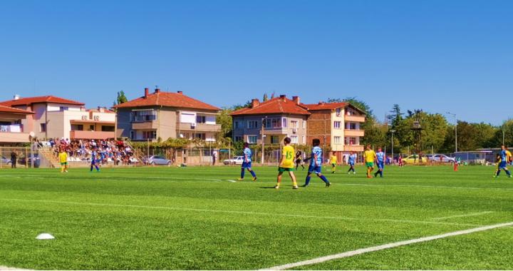 U12 (Набор 2008) загубиха след куп пропуски и здрава битка срещу отбора  на ФК Свиленград 1921